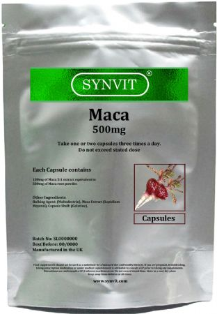 SYNVIT® Maca 500mg Capsules